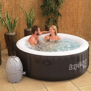bestway lay z spa miami inflatable hot tub. Black Bedroom Furniture Sets. Home Design Ideas