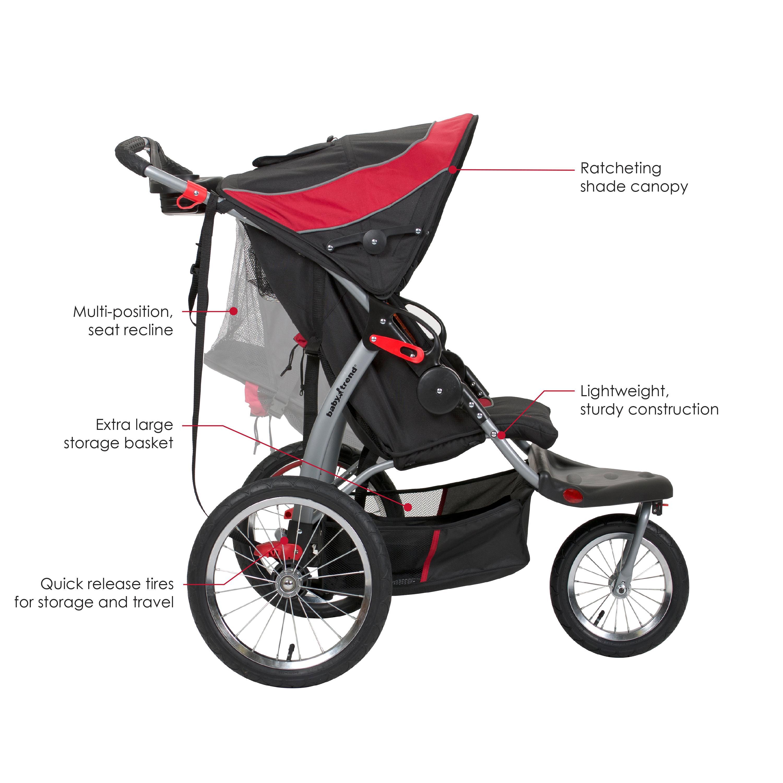 Amazon Com Baby Trend Expedition Double Jogger Elixer