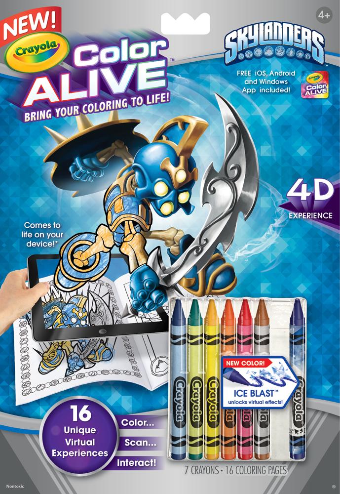 Amazon.com: Crayola Color Alive Action Coloring Pages ...