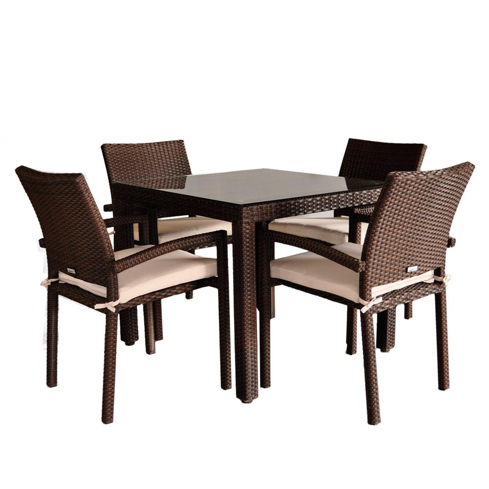 Atlantic Liberty 5 Piece Dining Set Outdoor And Patio Furniture Sets Patio
