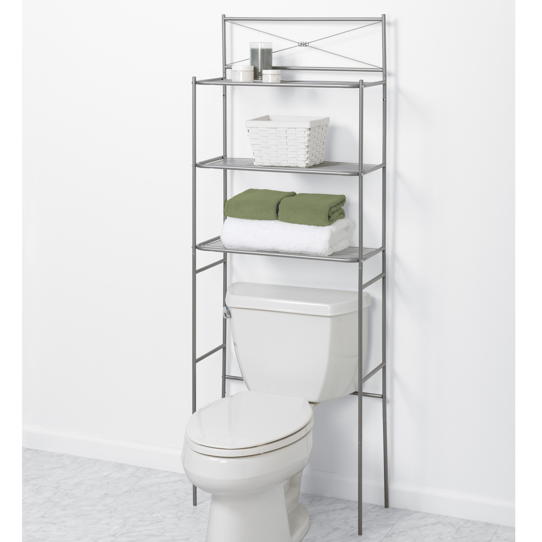 zenna home 2523nn cross style bathroom spacesaver satin nickel toilet paper holders. Black Bedroom Furniture Sets. Home Design Ideas
