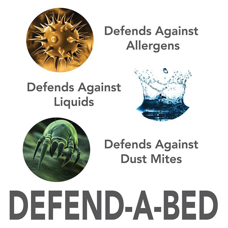 Hypoallergenic Twin Size Waterproof Mattress Pad Bed Bug