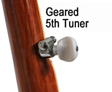 geared 5th banjo tuner