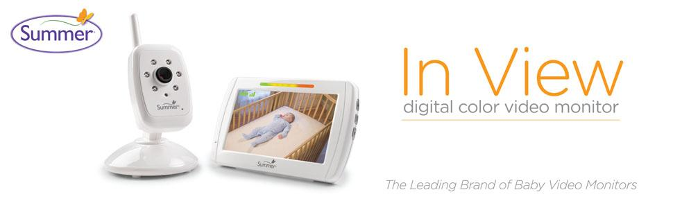 summer infant in view digital video monitor manual