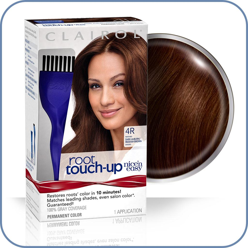 All About Clairol Nice N Easy Root Touchup Dark Auburnreddish