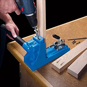 Kreg Jig K4 Pocket Hole System Power Drill Accessories