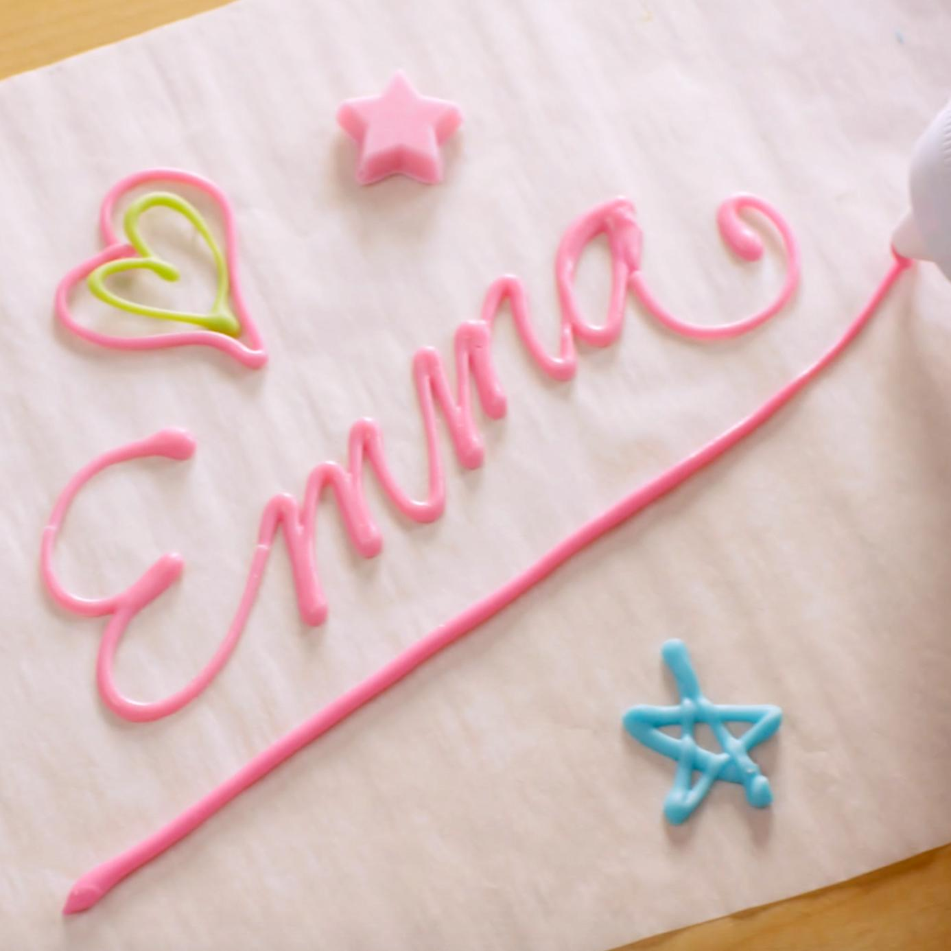 Edible Letters For Cakes Diy