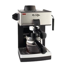 Frothy Coffee Maker Reviews : Amazon.com: Mr. Coffee ECM160 4-Cup Steam Espresso Machine, Black: Kitchen & Dining