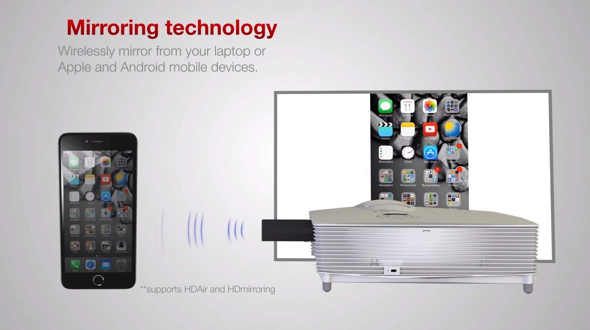 Amazon Com Optoma Hdcast Pro 1080p Hdmi Mhl Multimedia