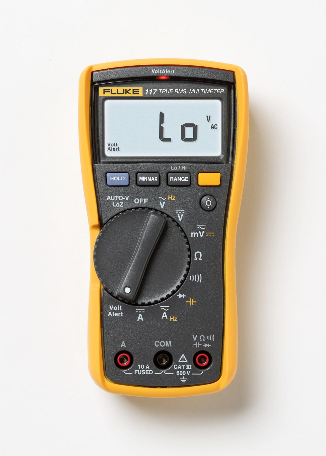 Amazon Com Fluke 117 Electricians True Rms Multimeter