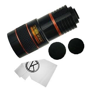 iphone 5 camera lens kit lenses telephoto zoom 8x tripod