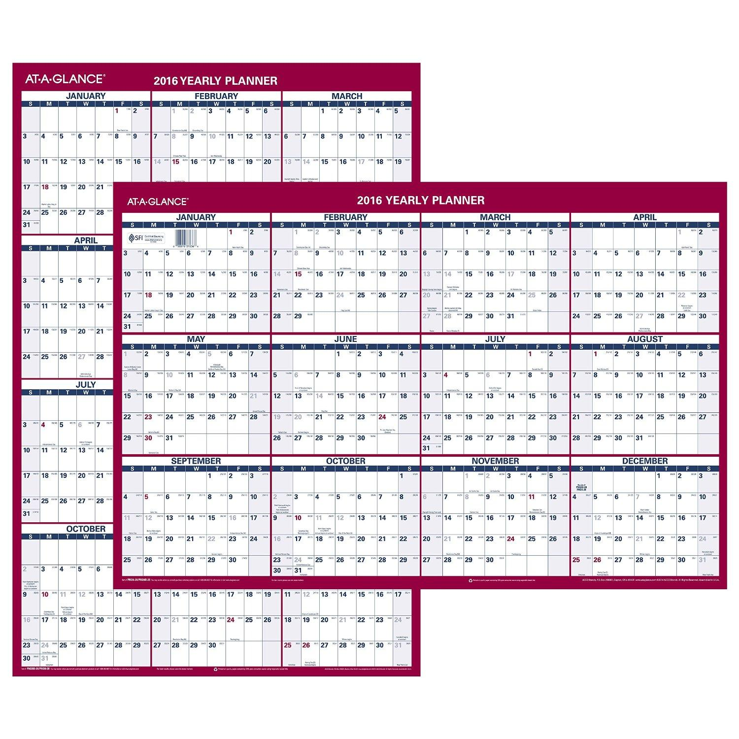 Search Results For 12 Month Erasable Wall Calendar