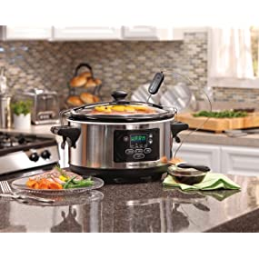 crock;pot;cookers;crockpots;programmable;cuisinart;all;clad;pots;breville;4;quart;timer;rival;casser