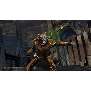 A Charr engineer in Guild Wars 2