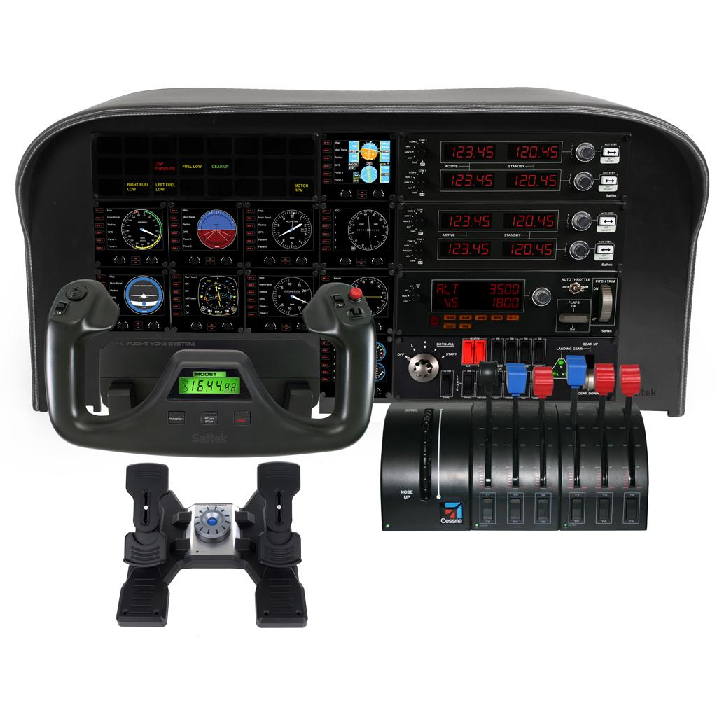 Saitek pc pro flight multi panel buy saitek pc pro for Build your own house simulator
