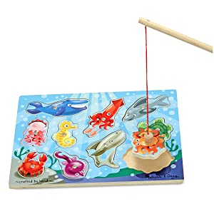 toy for 3 year old, boy, girl, preschool puzzle, sea creatures, matching
