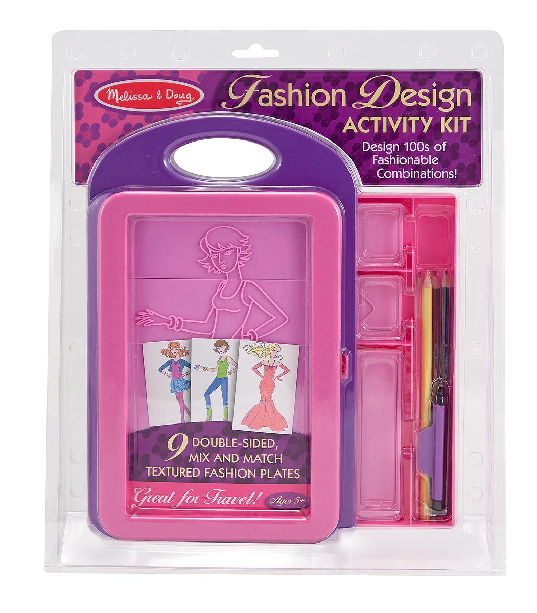 Melissa And Doug Toys : Amazon melissa doug fashion design activity kit
