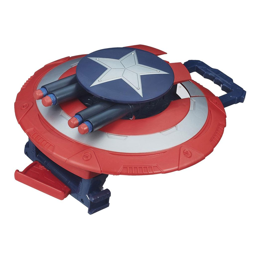 Captain America Marvel Super Soldier Gear Stealthfire Shield Toy
