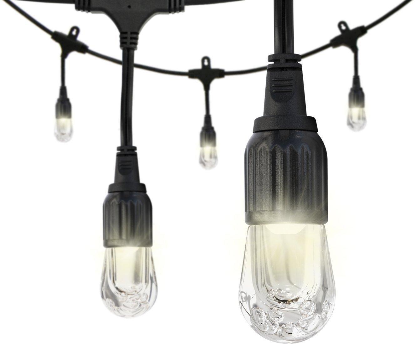 Amazon.com: Enbrighten Cafe LED String Lights (36 ft.), Premium, Commercial Grade, Lifetime ...