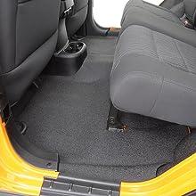 Jeep insulation