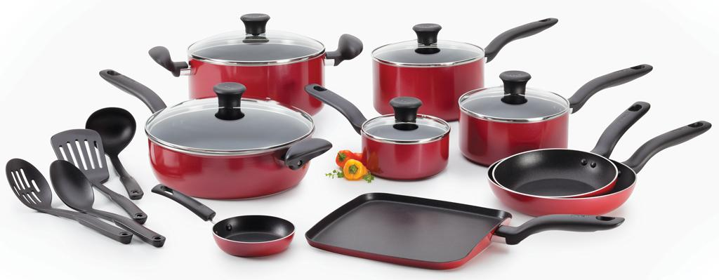 T fal a777si64 initiatives nonstick inside and for Kitchen set non stick
