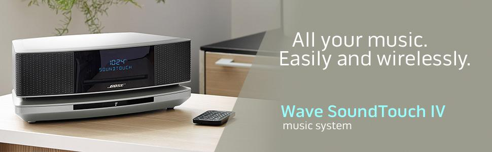 bose wave soundtouch music system iv espresso preta homeimportsusa. Black Bedroom Furniture Sets. Home Design Ideas