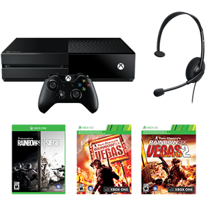 xbox one 1tb console tom clancy 39 s rainbow. Black Bedroom Furniture Sets. Home Design Ideas