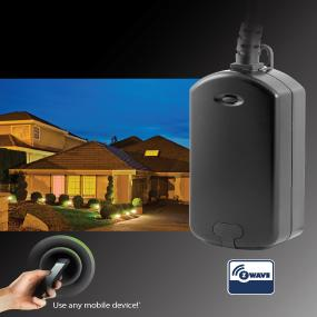 GE Z Wave Wireless Lighting Control Outdoor Module Plug