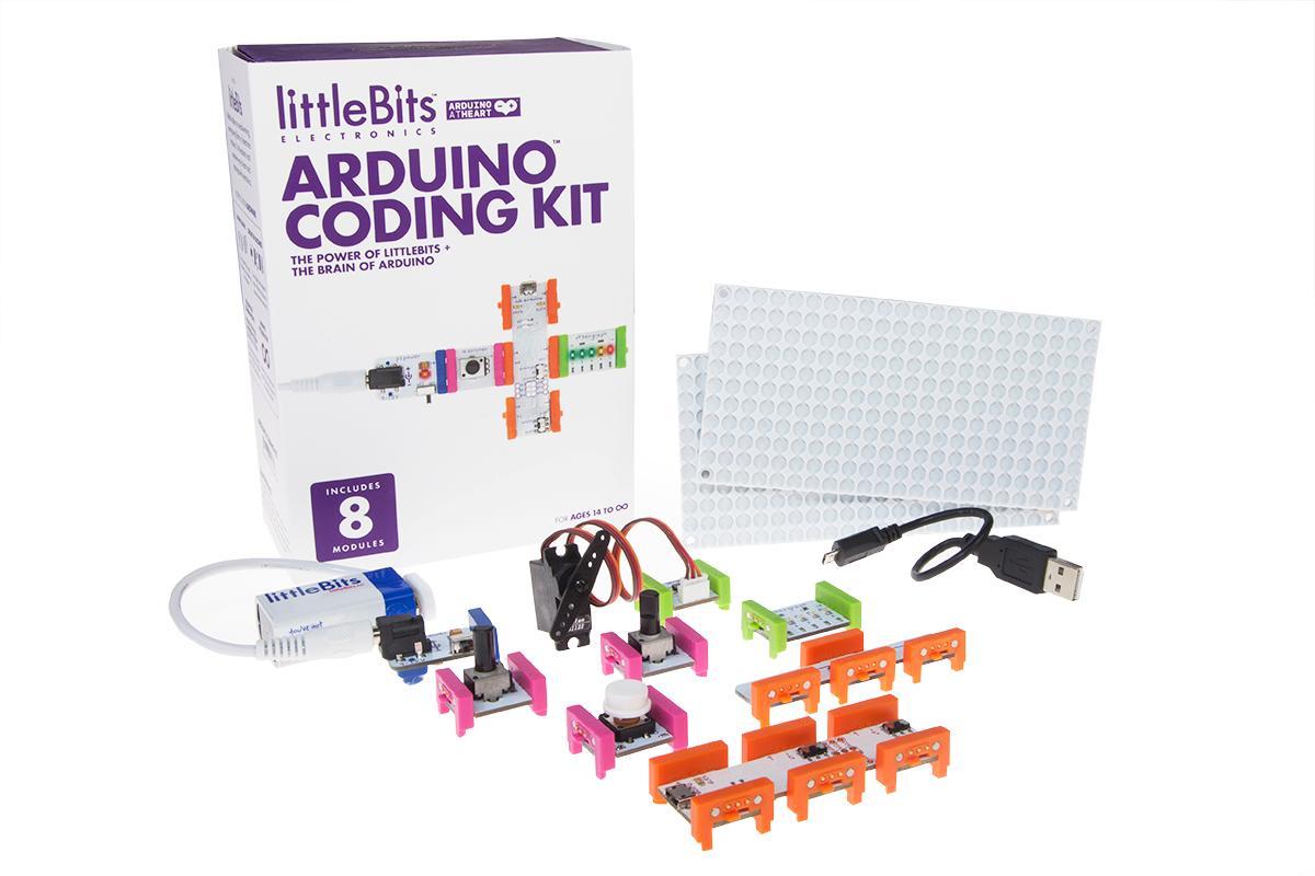Amazon littlebits electronics arduino coding kit