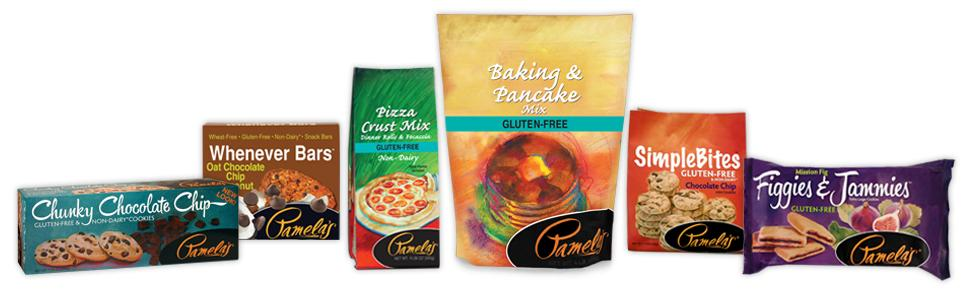 Pamela's Products, Gluten Free, Baking, Snacks
