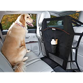 Helps avoid driver distraction when driving with pets.