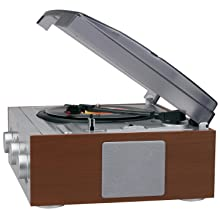speakers turntable jensen record player