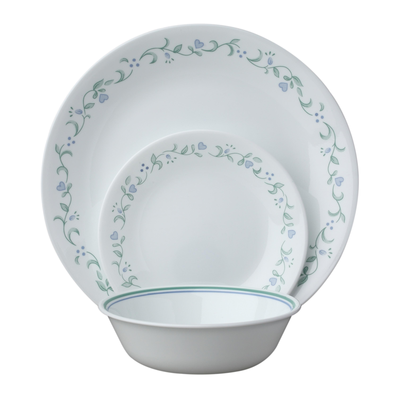 Amazon Com Corelle Livingware 18 Piece Dinnerware Set