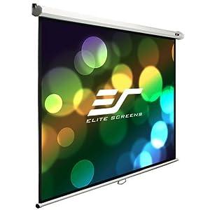 manual, screen, projection, manual b, elite, projector