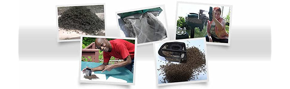 Mosquito Magnet Actual trap owners photo testimonials