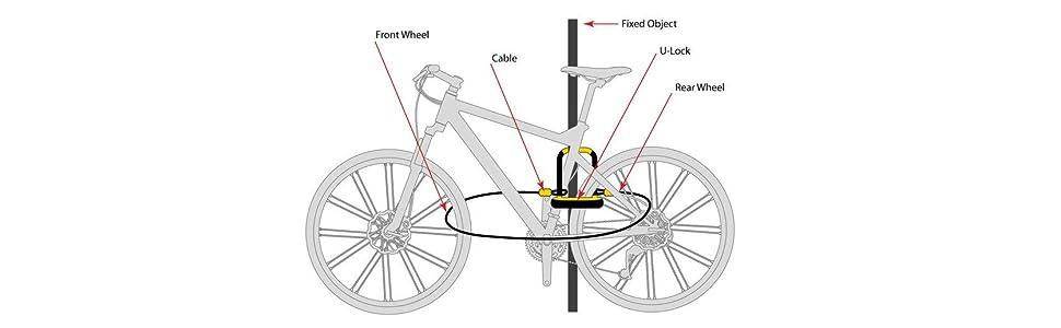 proper bike lock up. Black Bedroom Furniture Sets. Home Design Ideas