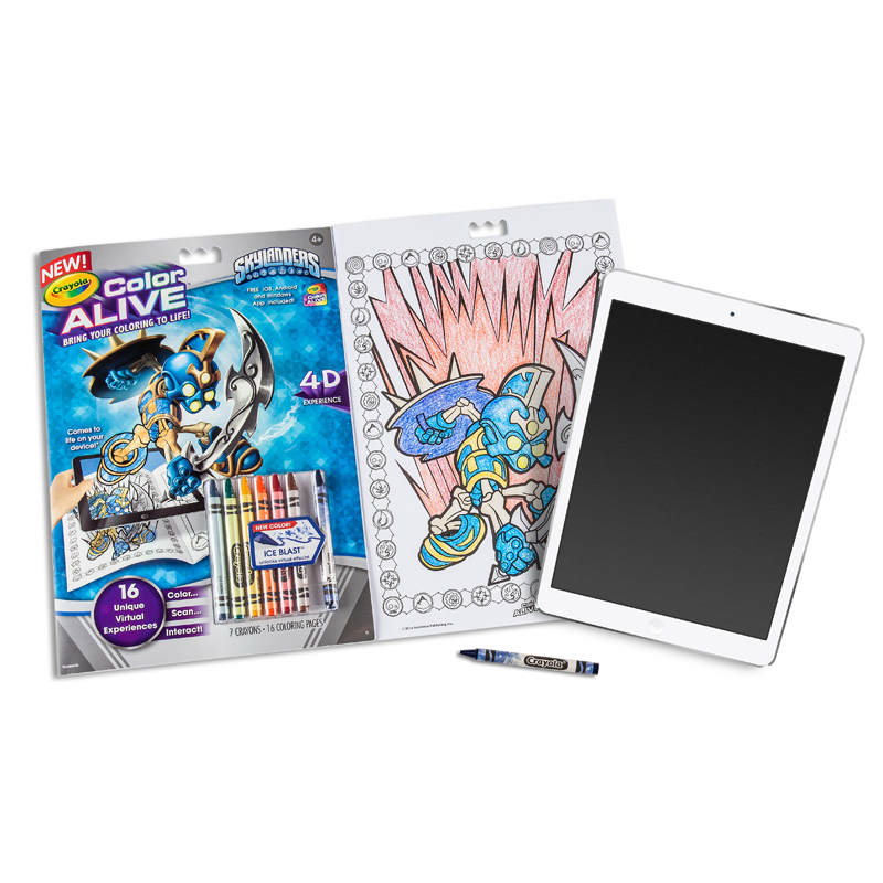 View larger for Crayola color alive action coloring pages mythical creatures