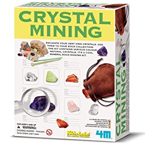 4M Crystal Mining Set