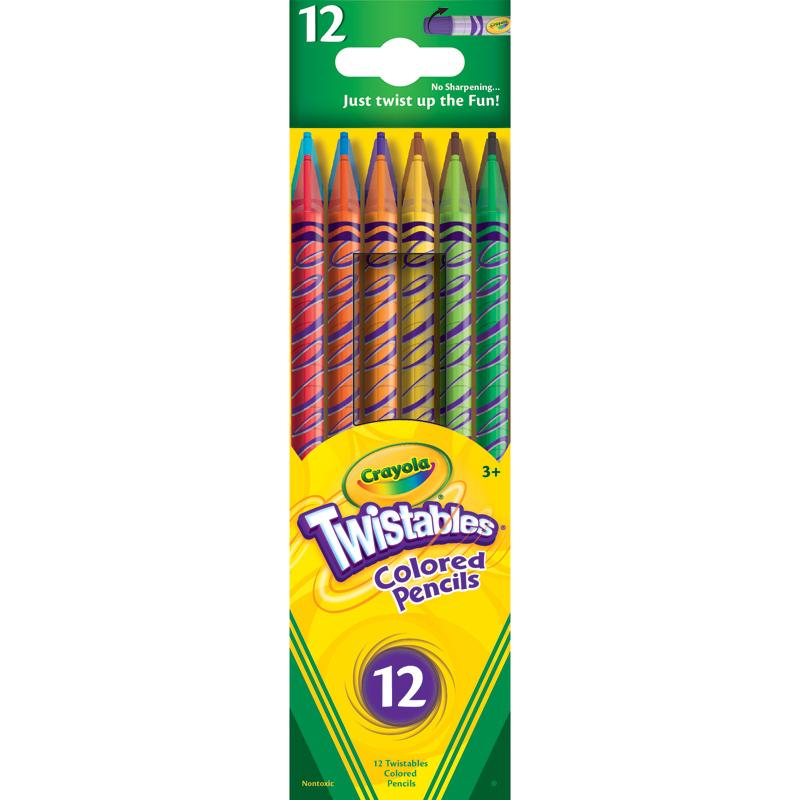 Crayola Twistable Colored Pencils 12 count (68-7408) Kids ...