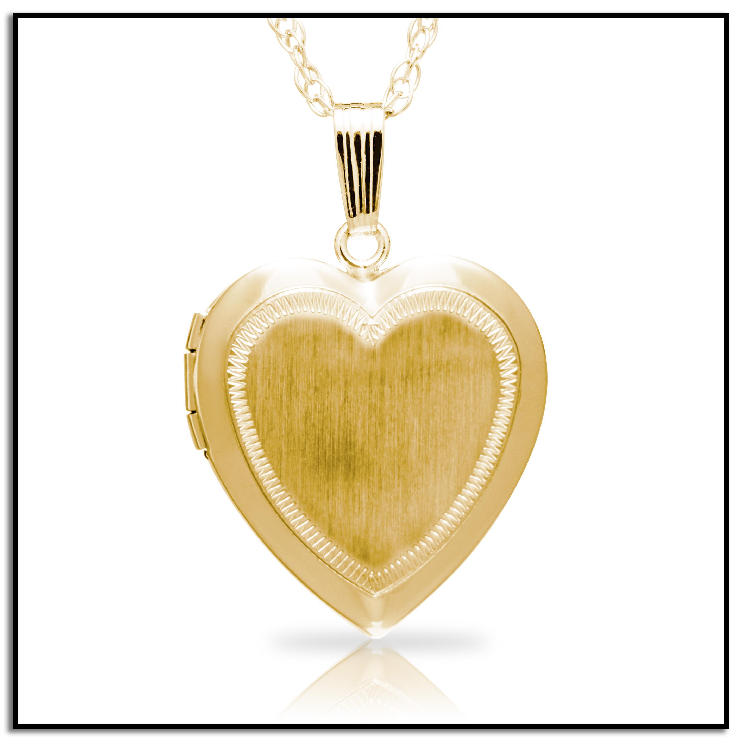 14k yellow gold filled engraved heart locket. Black Bedroom Furniture Sets. Home Design Ideas