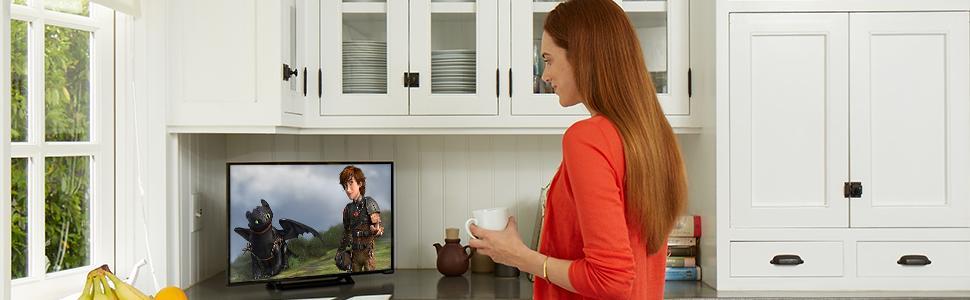 vizio d24h c1 24 inch 720p led tv electronics. Black Bedroom Furniture Sets. Home Design Ideas