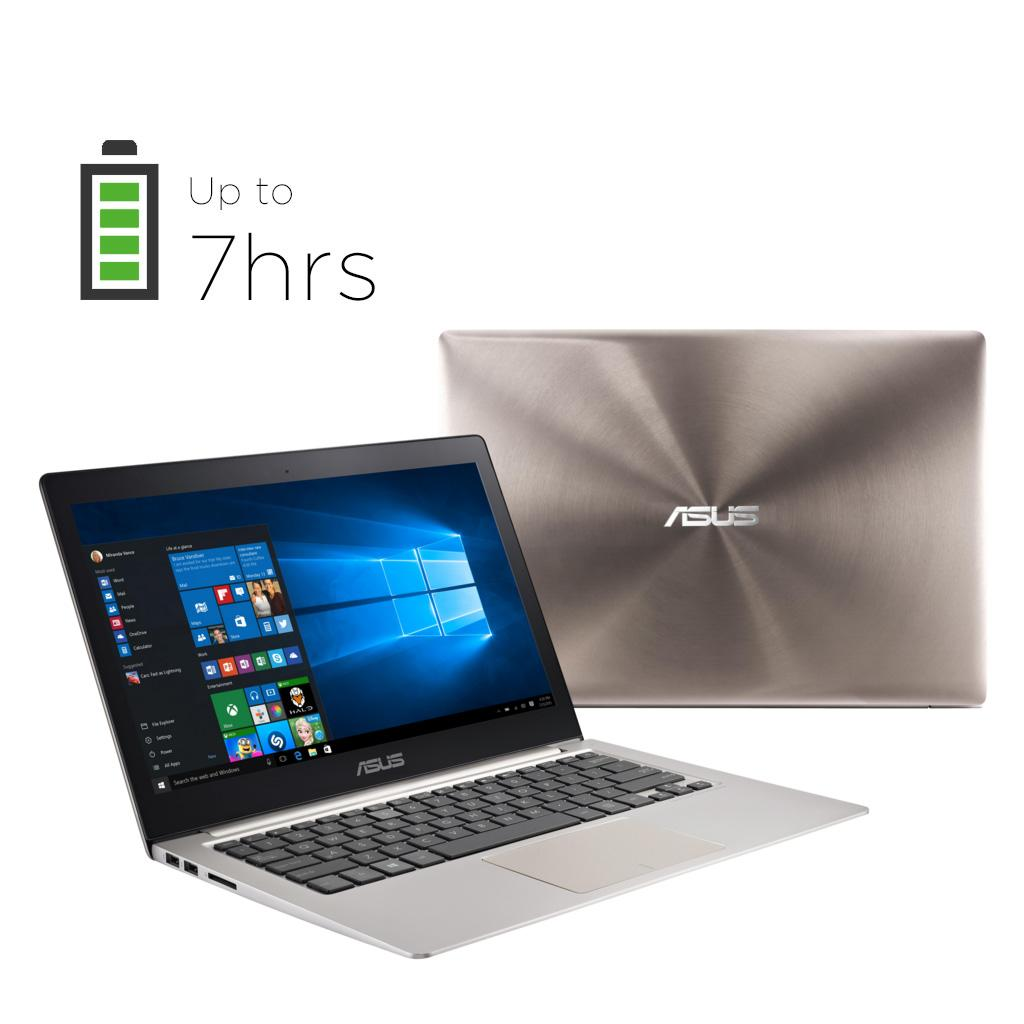 Amazon.com: ASUS ZenBook UX303UB 13.3-Inch QHD+ Touchscreen Laptop ...