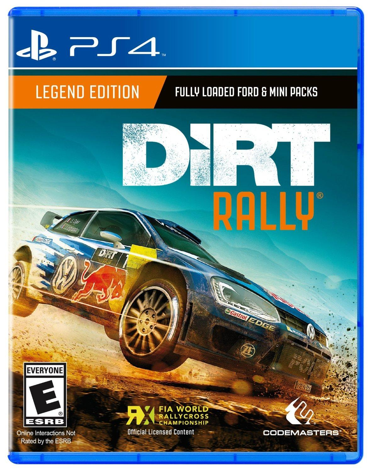 dirt rally playstation 4 square enix llc. Black Bedroom Furniture Sets. Home Design Ideas