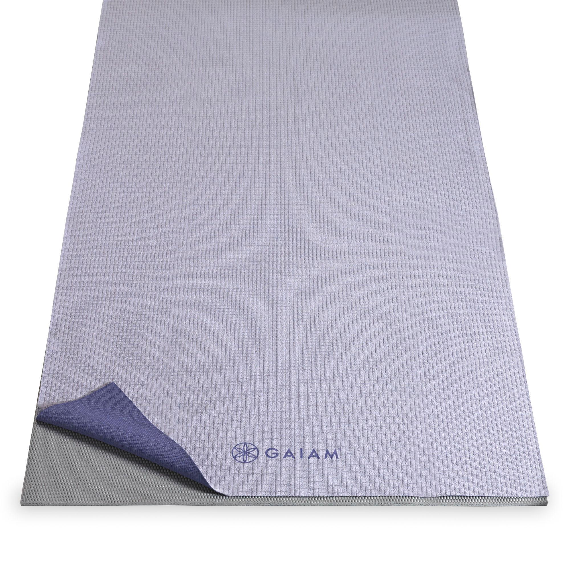 Travel Yoga Mat Or Towel: Amazon.com : Gaiam Travel Yoga Mat, Blue : Yoga Towels