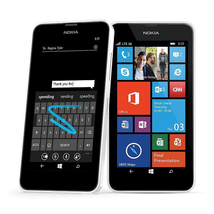 Amazon.com: Nokia Lumia 635 (Windows) Blue (Boost Mobile