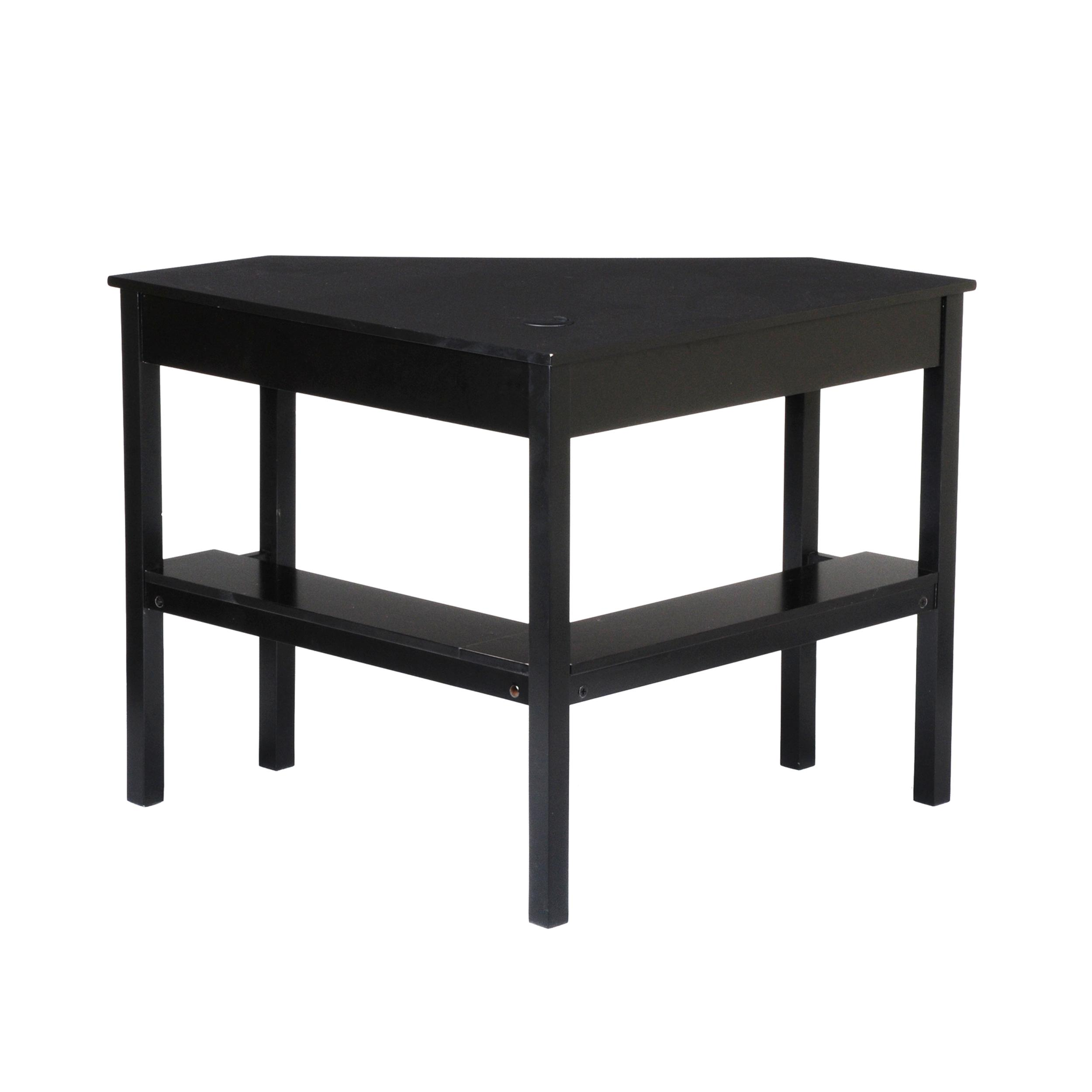 Sei Corner Desk Black Kitchen Dining