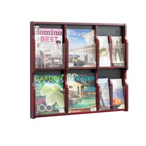 Display, Magazine display, Pamphlet display, Brochure display, Wood display