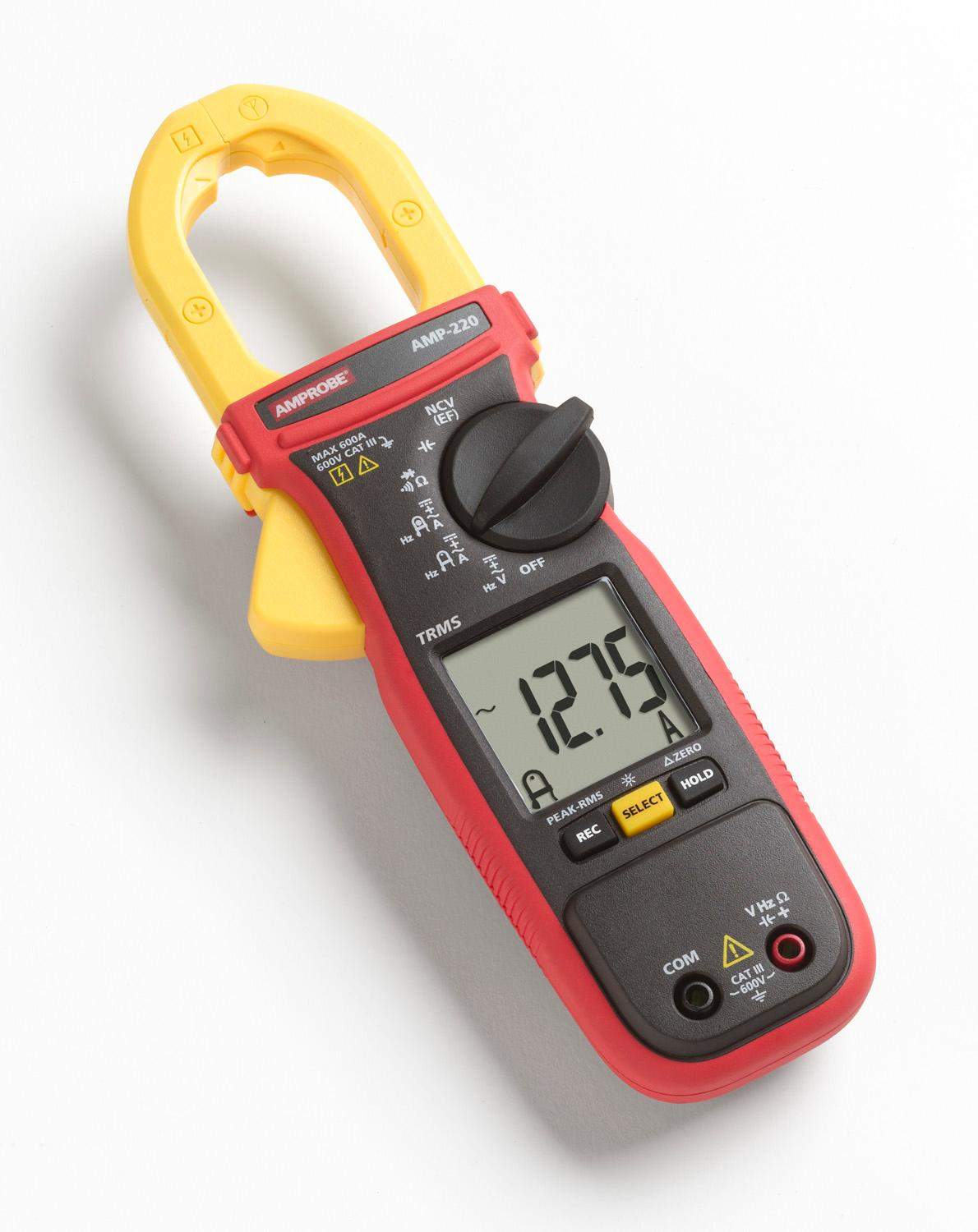 Low Amp Probe Clamp : Amp clamp meter