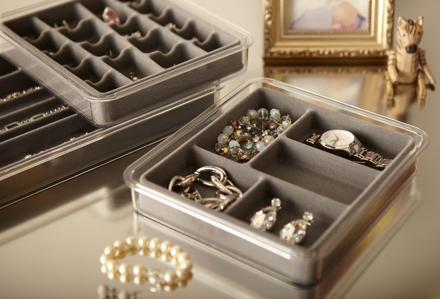 Amazon Com Neatnix Jewelry Stax Necklace Organizer Pearl