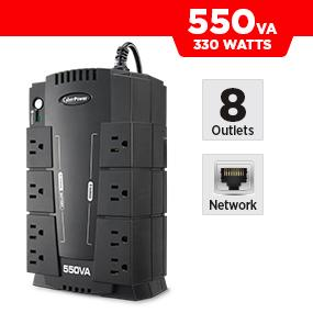 CyberPower CP550SLG Battery Backup UPS